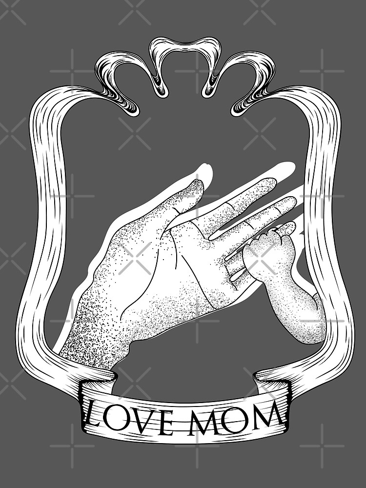 Mom's Day Special I Love Mom by Little Monster