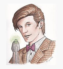 "Eleventh Doctor say ""Geronimo!"" Photographic Print"