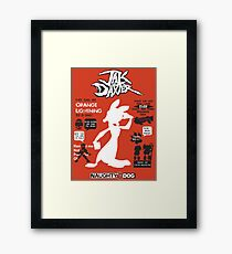 Daxter Quotes Framed Print
