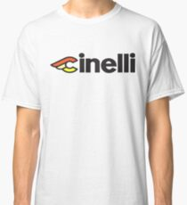 Camiseta clásica Cinelli Vintage Style Logo Ciclismo Campagnolo Classic Retro Bike Camisetas