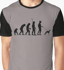 Camiseta gráfica Evolución del hombre