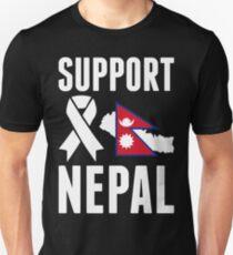 Support Nepal Unisex T-Shirt