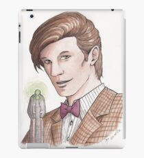 "Eleventh Doctor say ""Geronimo!"" iPad Case/Skin"