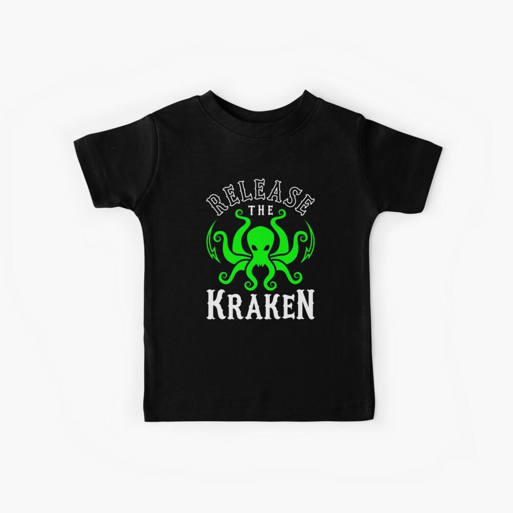Lass den Kraken los Kinder T-Shirt