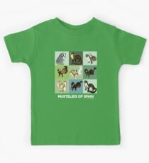 Best Nine : Mustelids of Spain  Camiseta para niños