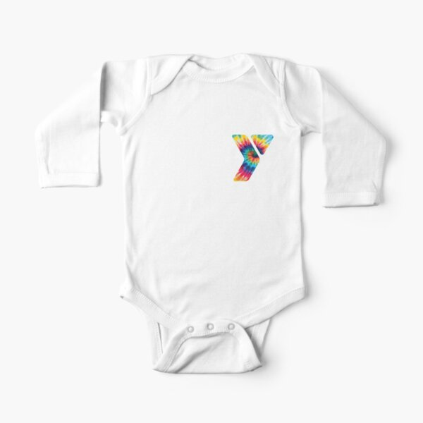 YMCA logo  Long Sleeve Baby One-Piece