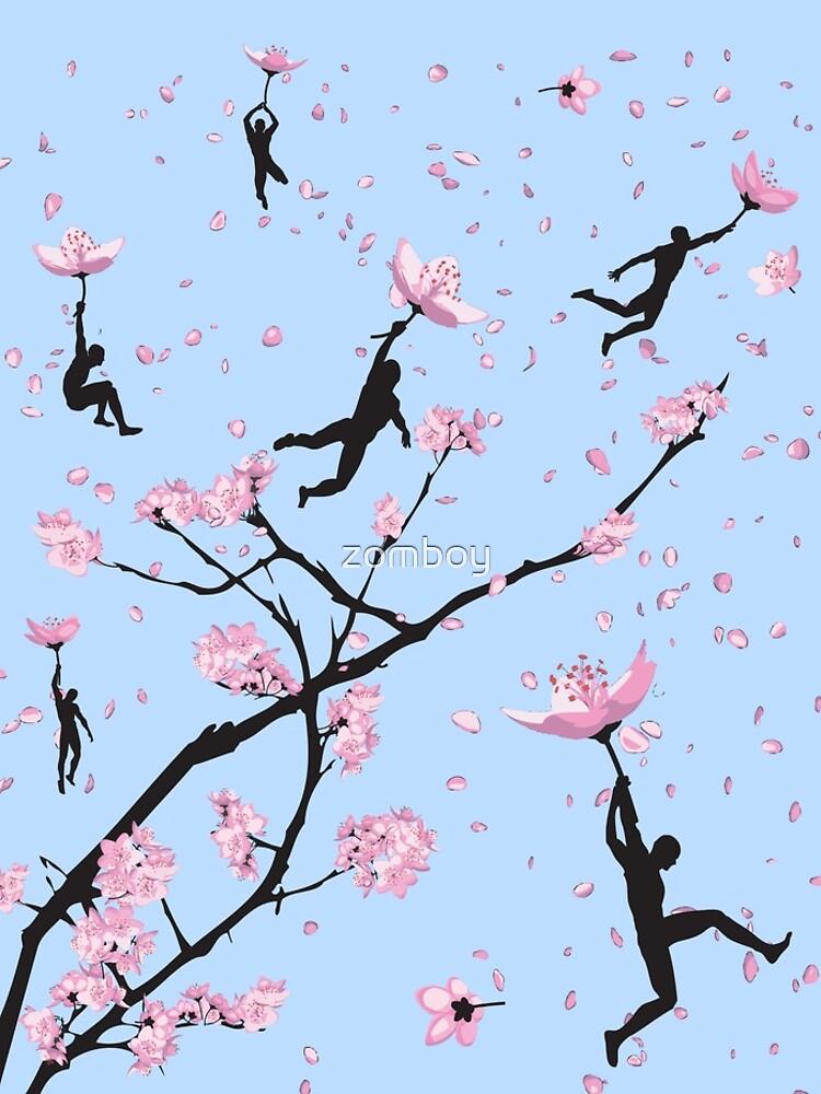 Blütenflug von zomboy