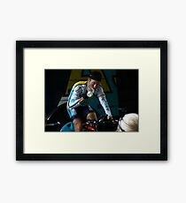Lance Armstrong is back Framed Print