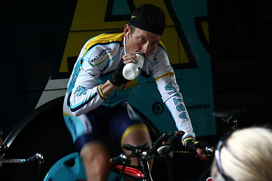 Lance Armstrong is back by Elena Martinello