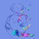 Enochian Rain (Blue) by FreakorGeek