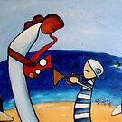 Duet on the Beach by Midori Furze