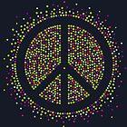 Frieden - Neonblasen von bunbun369