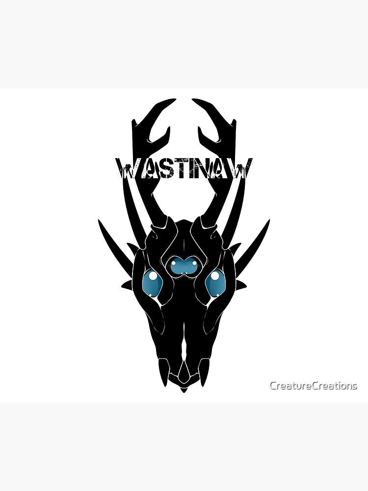 Wastinaw stencil design #2 by CreatureCreations
