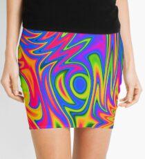 A Blaze of Colour Mini Skirt