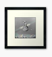Space Football Framed Print