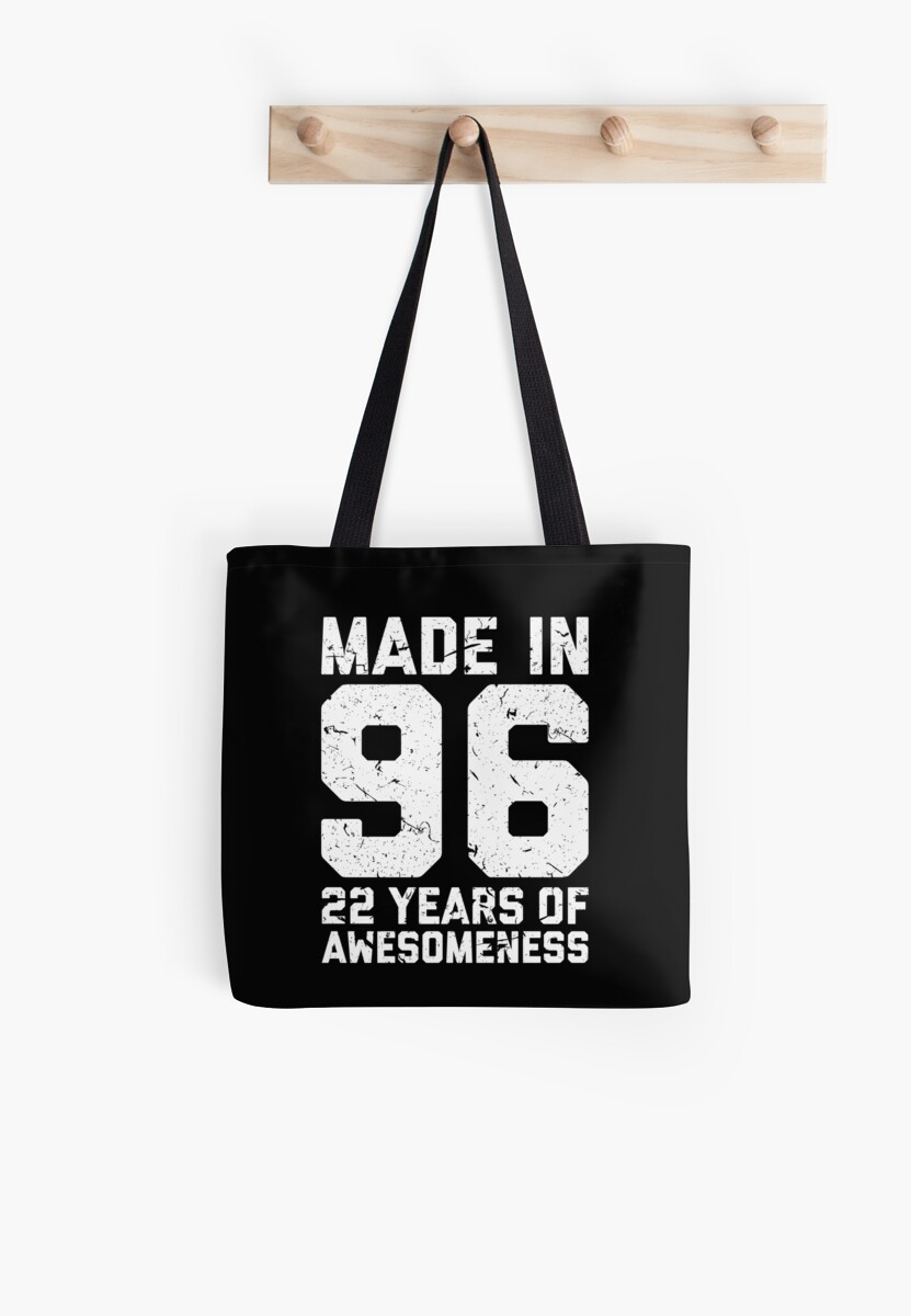 22nd Birthday Gift Adult Age 22 Year Old Men Women Tote Bag By Matt L