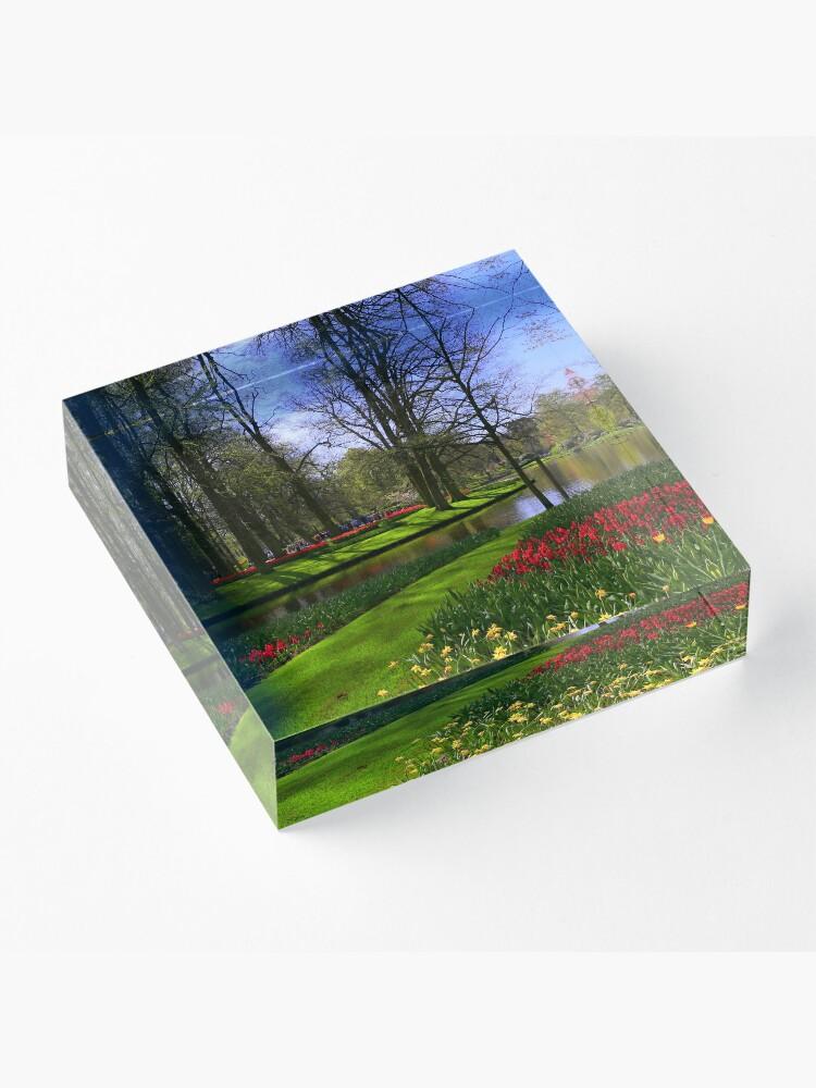Alternate view of Keukenhof Acrylic Block