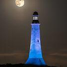 Hoad Monument Full Moon by Stephen Miller