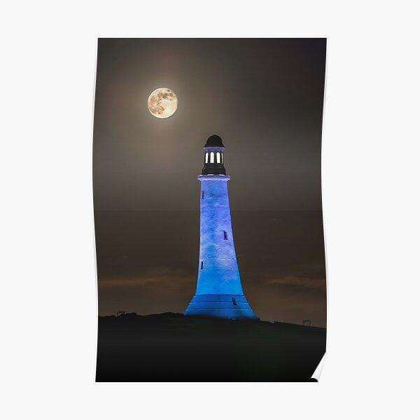 Hoad Monument Full Moon Poster