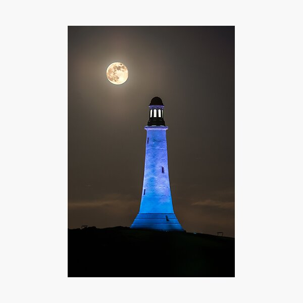 Hoad Monument Full Moon Photographic Print