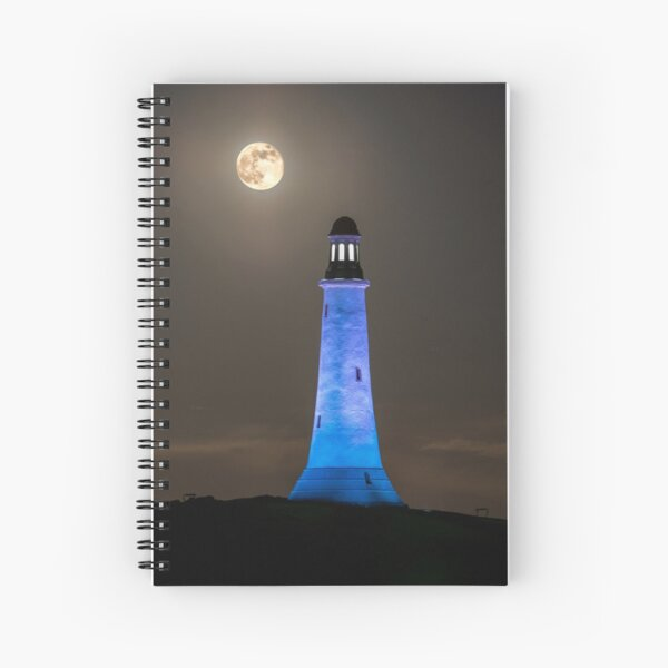 Hoad Monument Full Moon Spiral Notebook