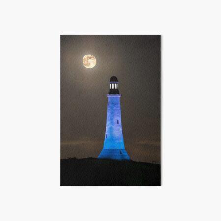 Hoad Monument Full Moon Art Board Print