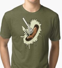 Unexpected Sausage Tri-blend T-Shirt