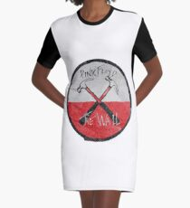 Pink Floyd The Wall watercolour Graphic T-Shirt Dress