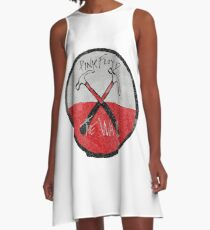 Pink Floyd The Wall watercolour A-Line Dress