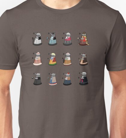 Daleks in Disguise Pattern T-Shirt