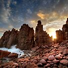Sunset Pinnacles by Annette Blattman