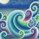 Fibonacci's Sea by SarahOyetunde