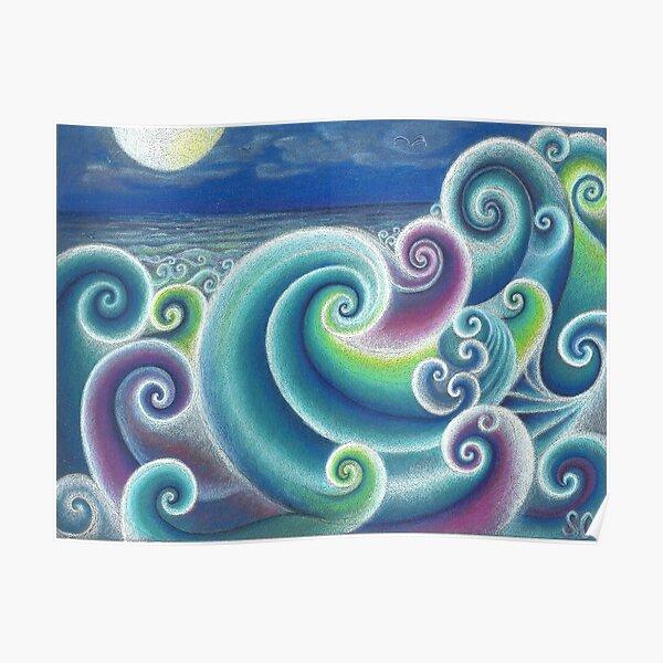 Fibonacci's Sea Poster