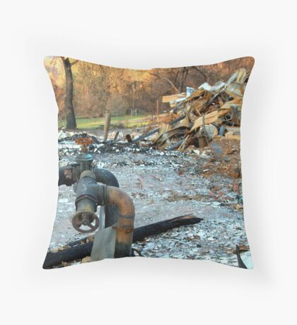 Impotent Sentinels  Throw Pillow