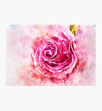 Flower Flower Watercolor Photographic Print