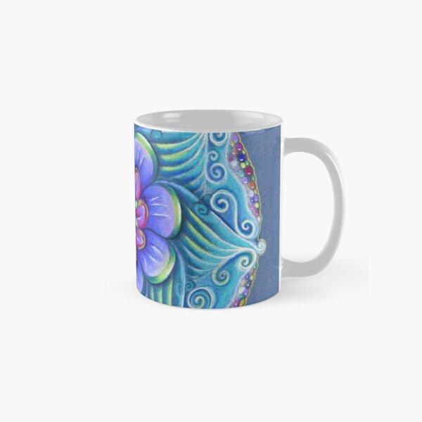 Aqua mandala Classic Mug