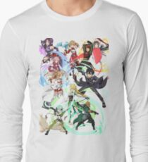 Sword Art Online - Mashup #2 Long Sleeve T-Shirt