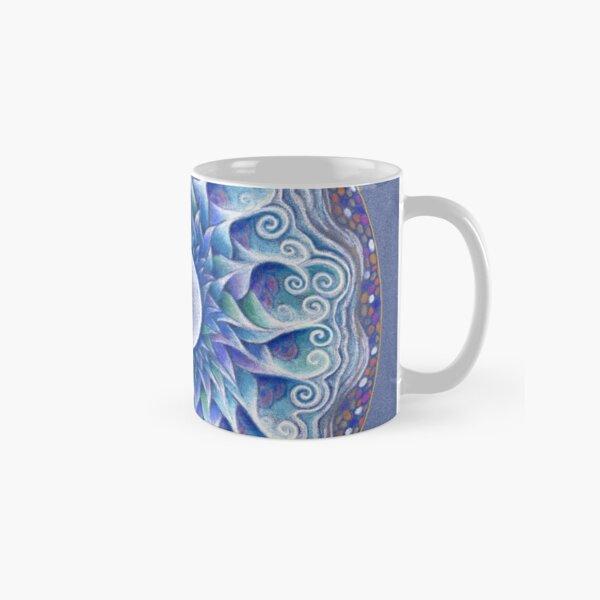 Moon Centred Mandala Classic Mug