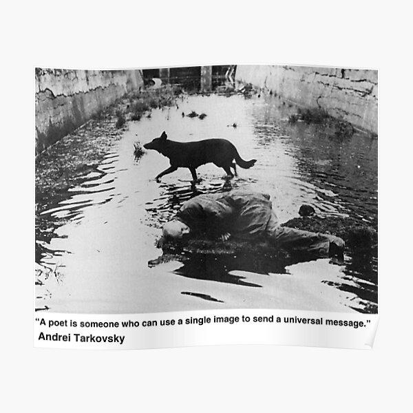 Tarkovsky Quote Poster
