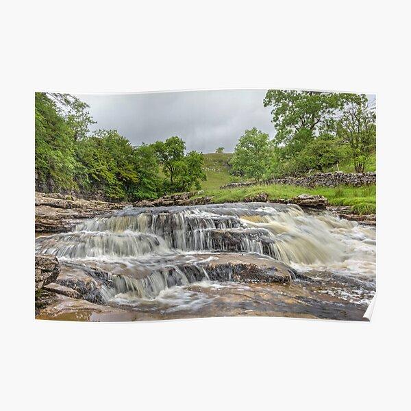Ingleton Waterfalls Yorkshire Dales Poster