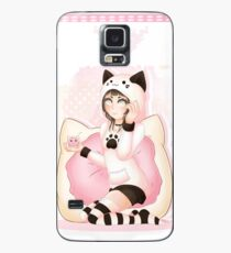 DeviCat Donut Girl - 2018 Case/Skin for Samsung Galaxy