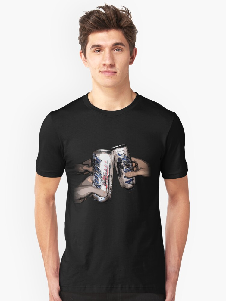 Natty Light: Party Time!  Unisex T-Shirt Front