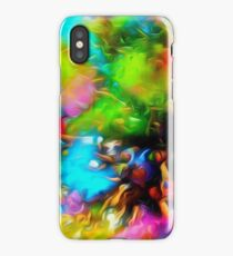 BLURRED COLORS  iPhone Case