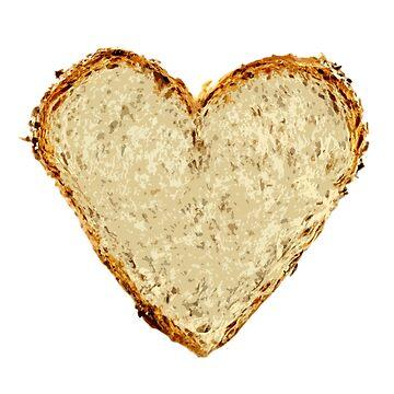Bread Heart by KingCrust