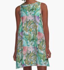 Nautilus A-Line Dress