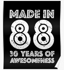 30th birthday drawing posters redbubble
