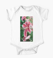 Lilies One Piece - Short Sleeve