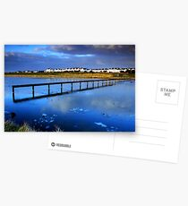 Waterloo marina Postkarten