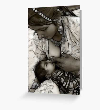 Mother is God Greeting Card
