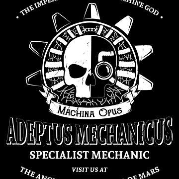 Adeptus Mechanicus by moombax